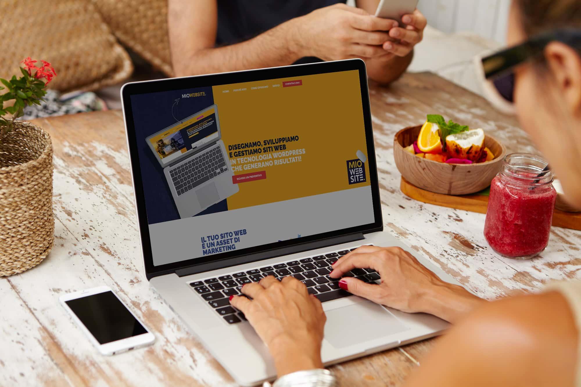 Realizzazione Siti Web MioWebsite